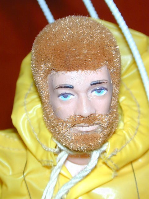 Vintage Action Man Doll Quirky Hunky Christmas Fairy